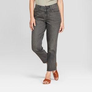 2 Universal Thread Womens High-Rise Straight Jeans